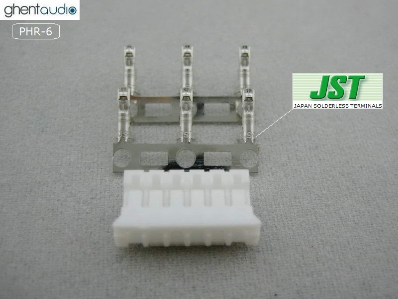 2WAY, 2.0 MM 20 sets JST PHR-2 HOUSING with crimp contact SPH-002T-P0.5S